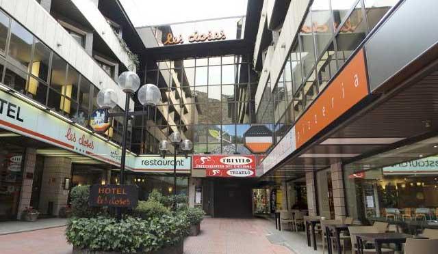 Restaurantes del Hotel Les Closes