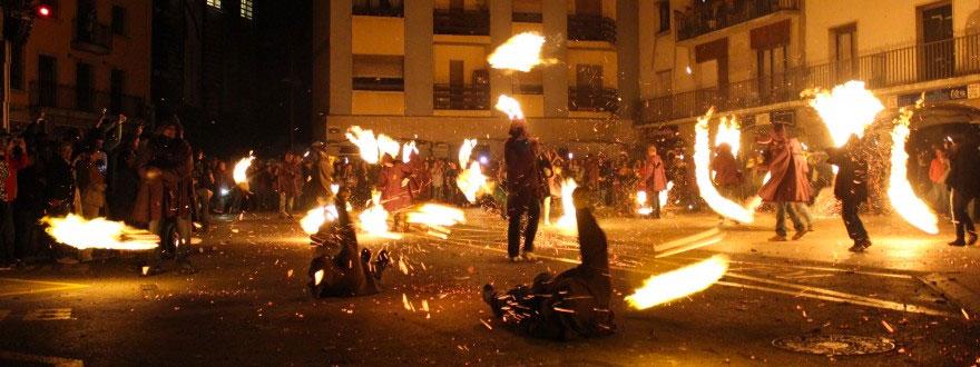 """""""Flama del Canigó i Cremada de Falles"""""""