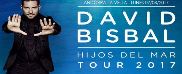 David Bisbal en Andorra 2017