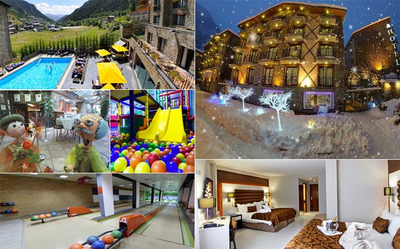 Los mejores hoteles de andorra para ir con ni os principado de andorra blog de turismo - Hoteles con piscina climatizada para ir con ninos ...