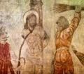 Mural original · Escena de la Pasión de Cristo