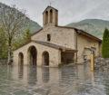 Sanctuary of Meritxell located at Andorra
